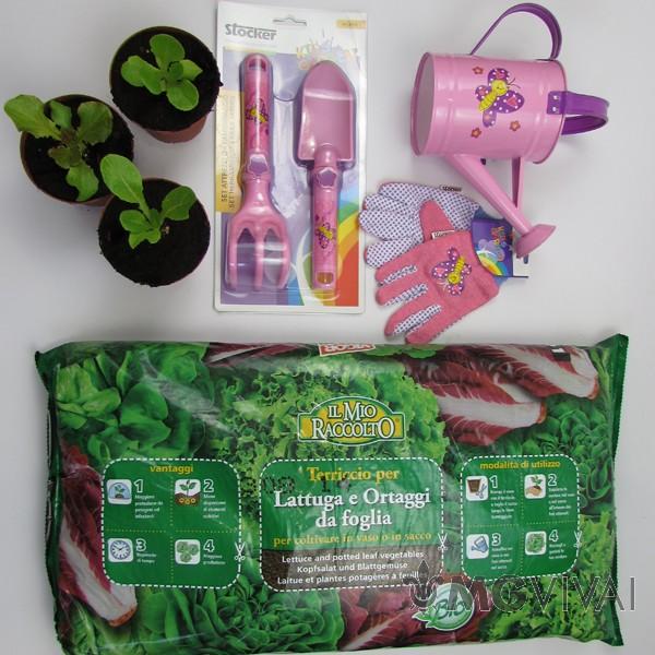 Il mio piccolo orto bimba vendita fiori piante online for Orto mio vendita online
